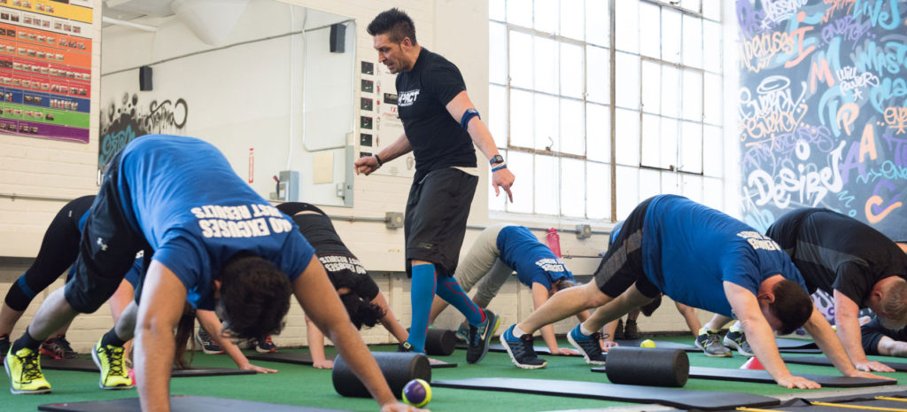 Group Training Fitness Classes